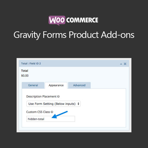 Woocommerce Gravity Forms Product Add Ons
