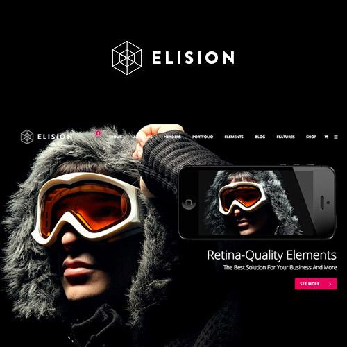 Elision - Retina Multi-Purpose WordPress Theme,