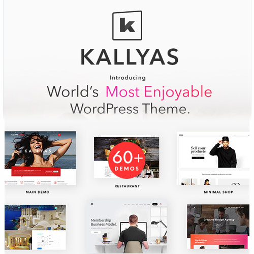 KALLYAS - Creative eCommerce Multi-Purpose WordPress Theme