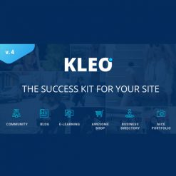 KLEO - Pro Community Focused, Multi-Purpose BuddyPress Theme