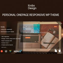 Krobs - Personal Onepage Responsive WP Theme
