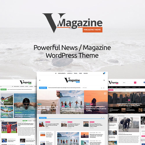 Vmagazine- Blog, NewsPaper, Magazine WordPress Themes,