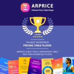 ARPrice - Responsive WordPress Pricing Table Plugin