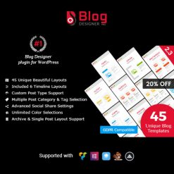 Blog Designer PRO for WordPress