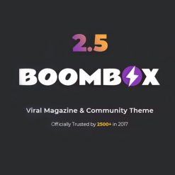 BoomBox - Viral Magazine WordPress Theme