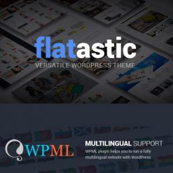 Flatastic - Versatile Multi Vendor WordPress Theme