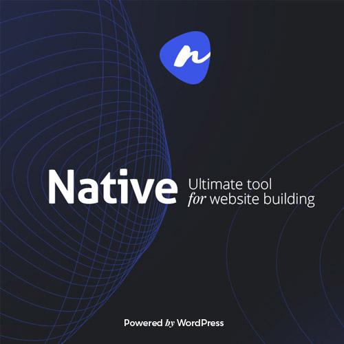 Native - Stylish Multi-Purpose Creative WP Theme,
