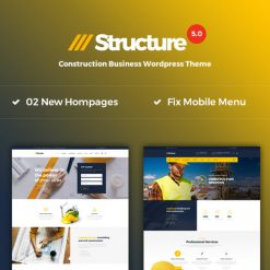 Structure - Construction WordPress Theme