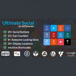 Ultimate Social - Easy Social Share Buttons and Fan Counters for WordPress