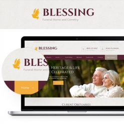 Blessing   Funeral Home WordPress Theme