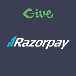 Give - Razorpay Gateway