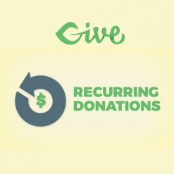 Give - Recurring Donations