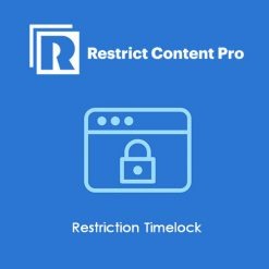 Restrict Content Pro Restriction Timelock