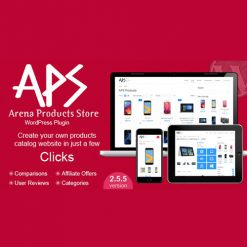 Arena Products Store - WordPress Plugin