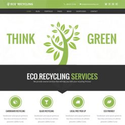 Eco Recycling - Ecology & Nature WordPress Theme