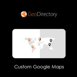 GeoDirectory Custom Google Maps