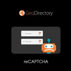 GeoDirectory Re-Captcha
