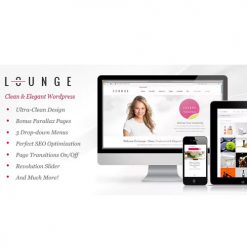 Lounge - Clean Elegant WordPress Theme
