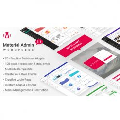 Material - White Label WordPress Admin Theme