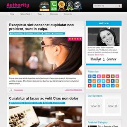 MyThemeShop Authority WordPress Theme