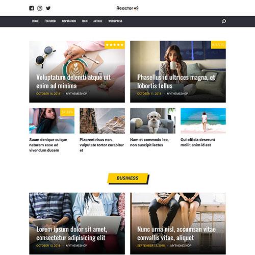 MyThemeShop Reactor WordPress Theme,