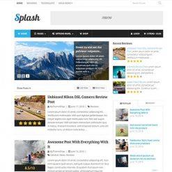 MyThemeShop Splash WordPress Theme