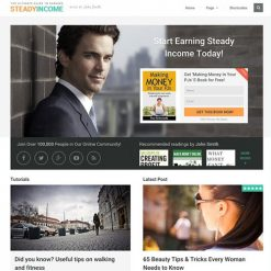 MyThemeShop SteadyIncome WordPress Theme