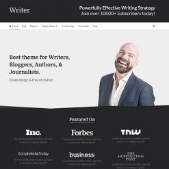 MyThemeShop Writer WordPress Theme