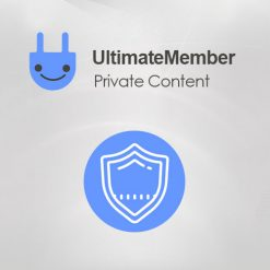 Ultimate Member Private Content Addon