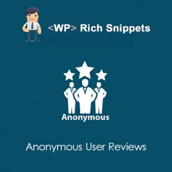 WP Rich Snippets Anonymous User Reviews