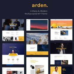 Arden - A Sharp & Modern Multipurpose WordPress Theme