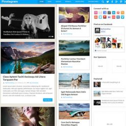 MyThemeShop Pinstagram WordPress Theme