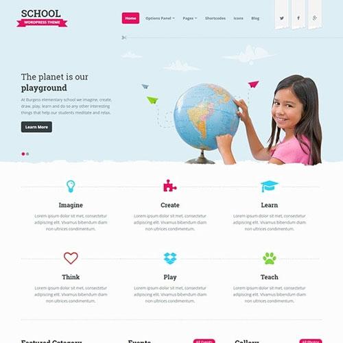 MyThemeShop School WordPress Theme,