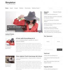 MyThemeShop Simpleton WordPress Theme