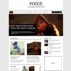 MyThemeShop Vogue WordPress Theme