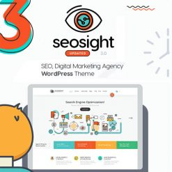 Seosight - SEO, Digital Marketing Agency WP Theme with Shop