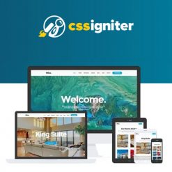 CSS Igniter Milos WordPress Theme