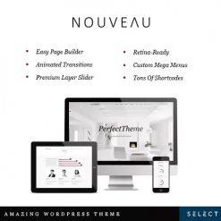 Nouveau - Multi-Purpose Retina WordPress Theme