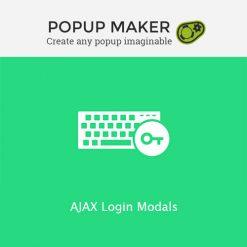 Popup Maker - AJAX Login Modals