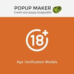 Popup Maker - Age Verification Modals