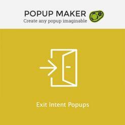Popup Maker - Exit Intent Popups