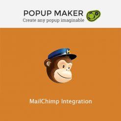 Popup Maker - MailChimp Integration