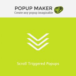 Popup Maker - Scroll Triggered Popups