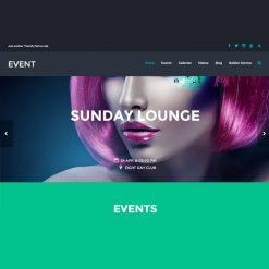 Themify Event WordPress Theme
