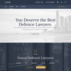 MyThemeShop Lawyer WordPress Theme