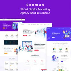 Seomun - Digital Marketing Agency WordPress Theme
