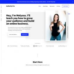 StudioPress Authority Pro Genesis WordPress Theme