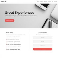 StudioPress Digital Pro Genesis WordPress Theme