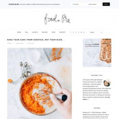 StudioPress Foodie Pro Genesis WordPress Theme