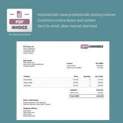 CodeCanyon WooCommerce PDF Invoice